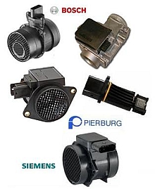 different types of maf sensors and air flow meters