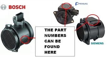 how to find your maf sensor part number
